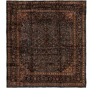 Link to 9' 4 x 10' Kashan Persian Square Rug