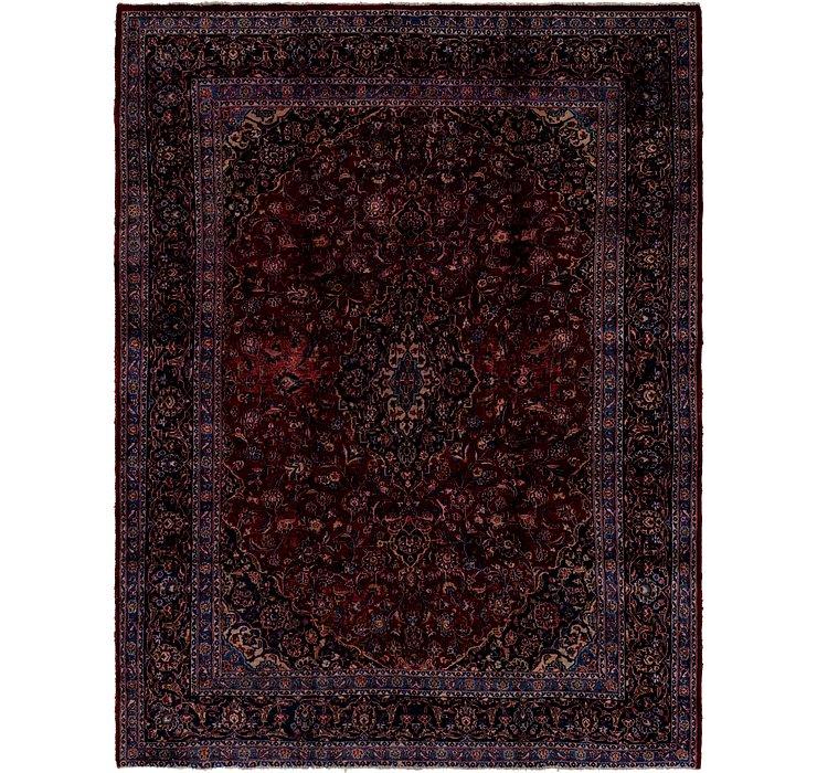 9' 10 x 12' 9 Kashan Persian Rug