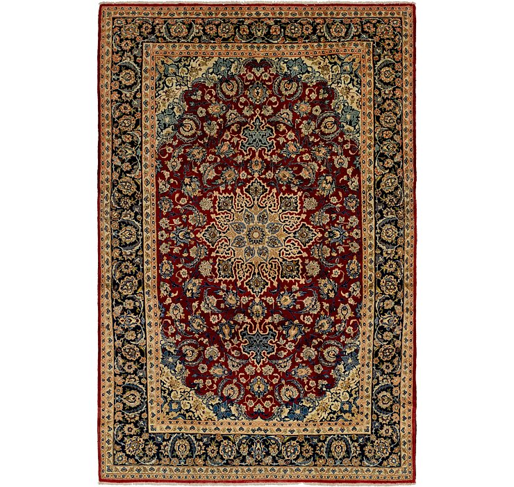 9' 5 x 15' Isfahan Persian Rug