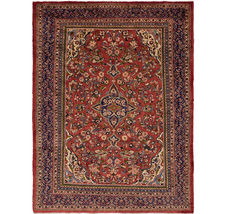 9' 10 x 13' Meshkabad Persian Rug