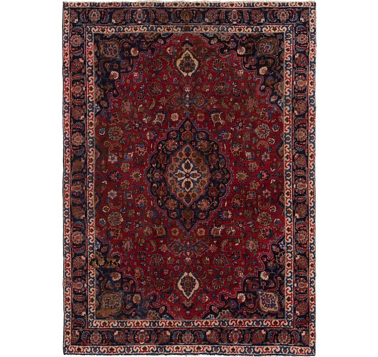 7' 9 x 10' 10 Mashad Persian Rug