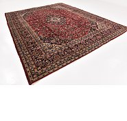 Link to 9' 7 x 12' Kashan Persian Rug