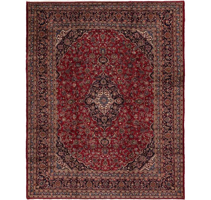 9' 7 x 12' Kashan Persian Rug