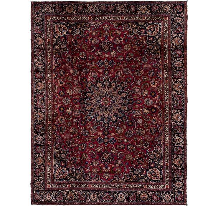 9' x 11' 7 Mashad Persian Rug
