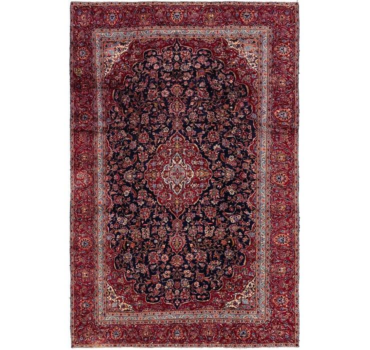 8' 8 x 13' 7 Kashan Persian Rug
