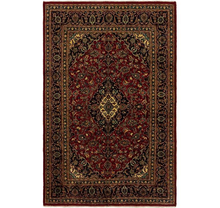 6' 4 x 10' 2 Mashad Persian Rug