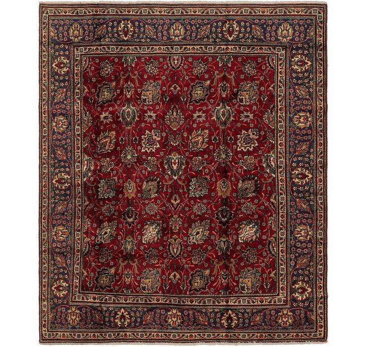 8' x 9' 7 Tabriz Persian Rug