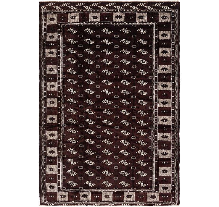 8' 2 x 11' 7 Torkaman Persian Rug