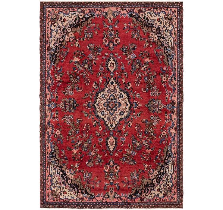 6' 7 x 9' 8 Hamedan Persian Rug