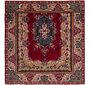 Link to 9' 9 x 10' Tabriz Persian Square Rug