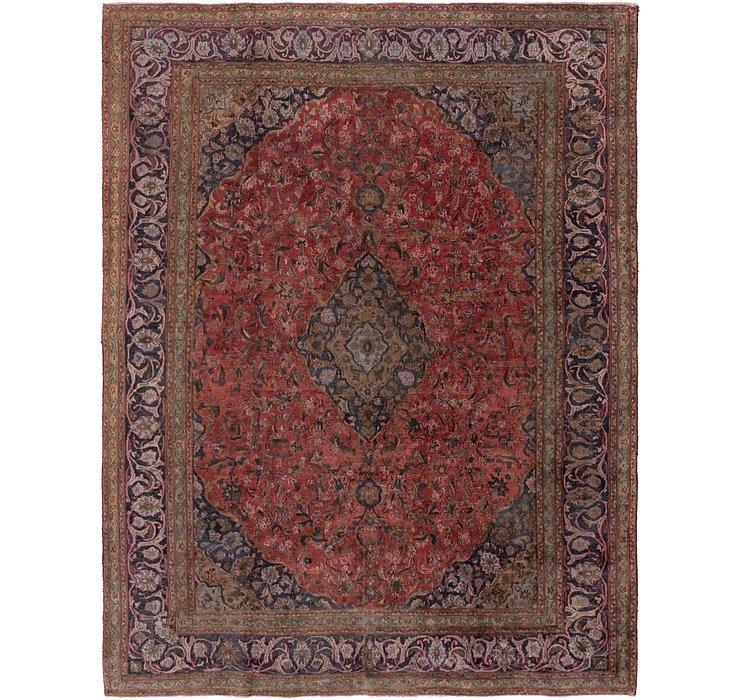 9' 3 x 12' Mashad Persian Rug