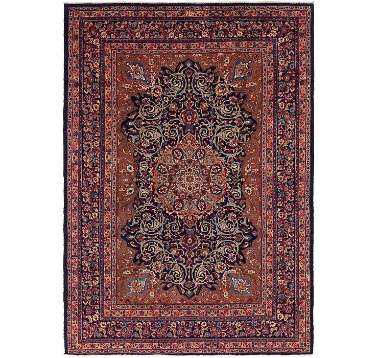 8' x 11' 4 Mashad Persian Rug