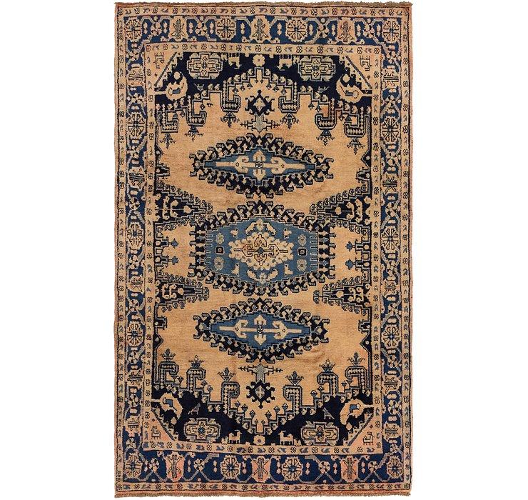 5' 7 x 9' Viss Persian Rug