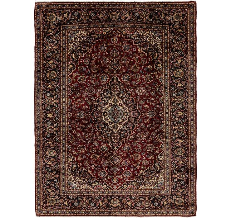 8' 8 x 11' 5 Kashan Persian Rug