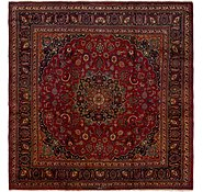 Link to 9' 10 x 10' 2 Mashad Persian Square Rug