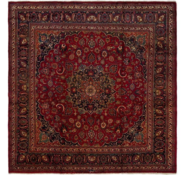9' 10 x 10' 2 Mashad Persian Square Rug
