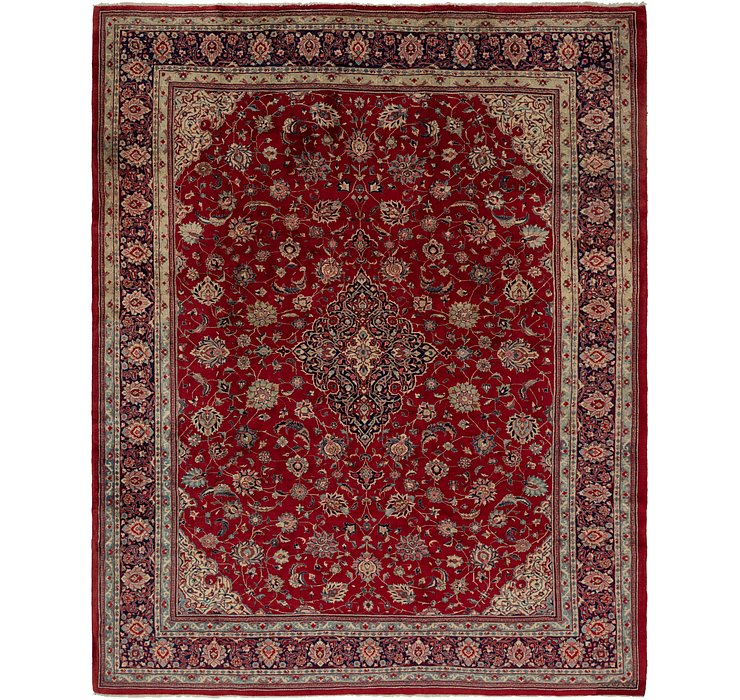 10' 4 x 12' 9 Sarough Persian Rug