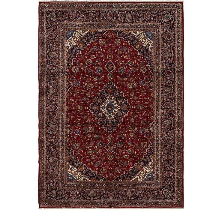9' 7 x 13' 10 Kashan Persian Rug