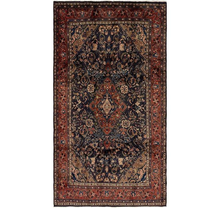 5' 2 x 9' 8 Shahrbaft Persian Rug