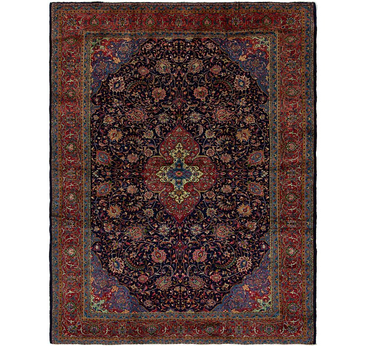10' 2 x 13' 2 Sarough Persian Rug