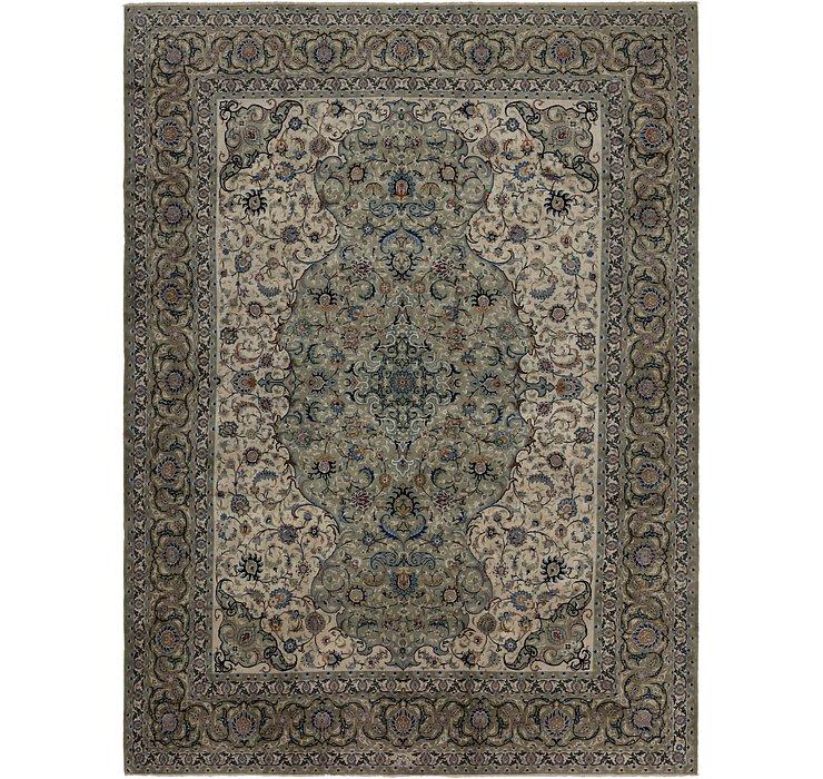 10' 7 x 14' 4 Kashan Persian Rug