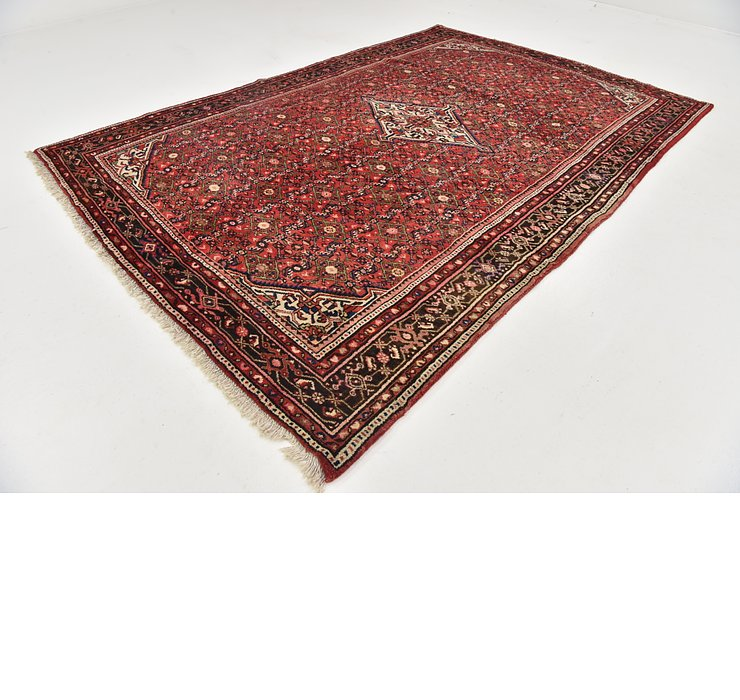 7' x 10' 2 Hossainabad Persian Rug