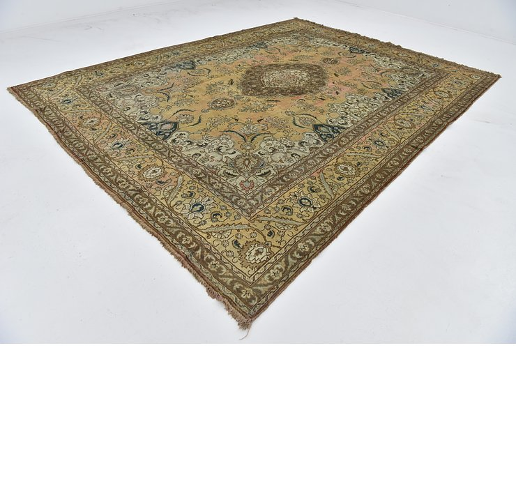 10' 3 x 13' 3 Tabriz Persian Rug
