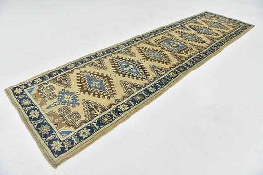 Beige 3 X 12 Viss Persian Runner Rug Persian Rugs Esalerugs