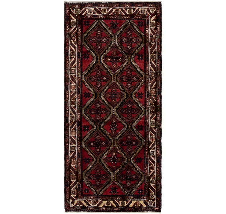 4' 8 x 10' 2 Chenar Persian Runner Rug