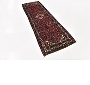 Link to 90cm x 295cm Hossainabad Persian Runner Rug
