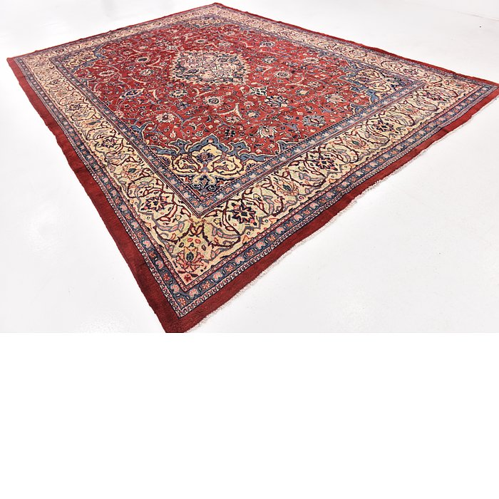 10' x 14' Sarough Persian Rug