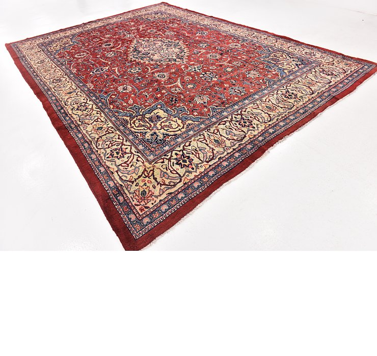 10' x 14' Sarough Persian Rug