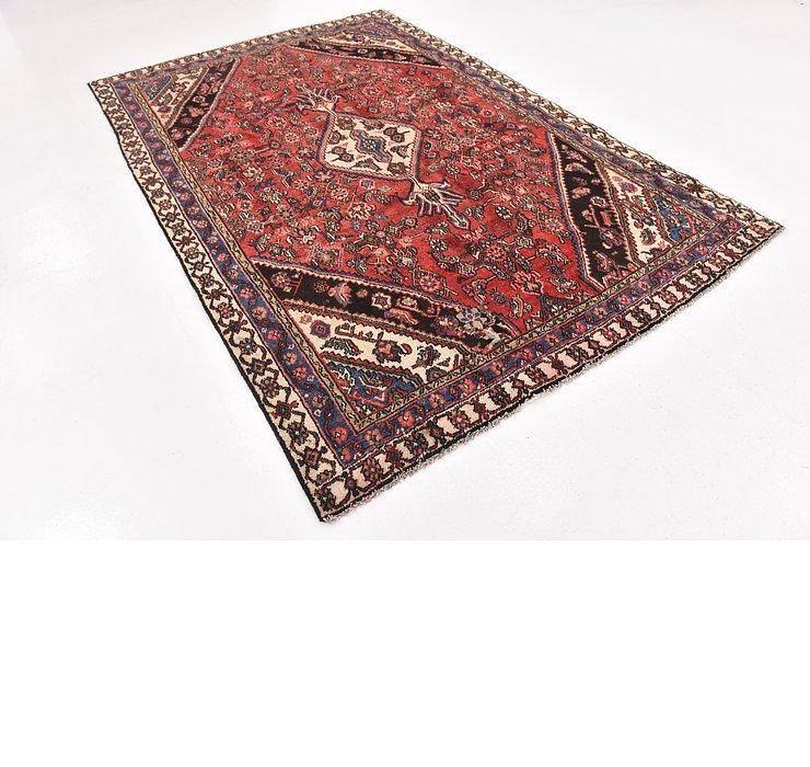 6' x 9' 3 Hamedan Persian Rug