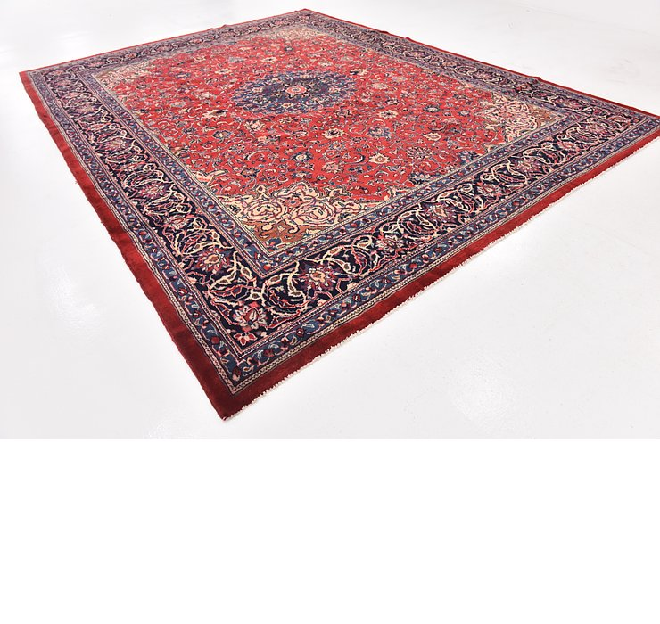 10' 9 x 13' 10 Sarough Persian Rug