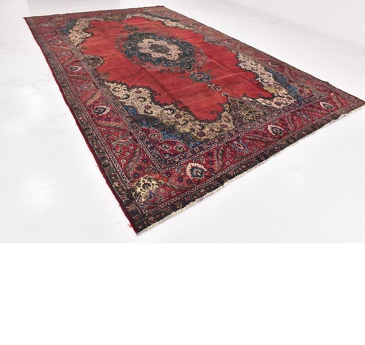9' 10 x 15' 8 Tabriz Persian Rug