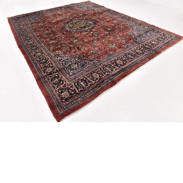 9' 10 x 13' 9 Sarough Persian Rug
