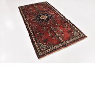 Link to 4' 6 x 8' 8 Hamedan Persian Runner Rug