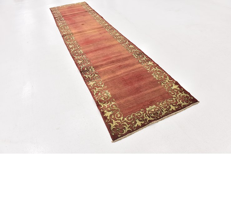 3' 4 x 14' Tabriz Persian Runner Rug
