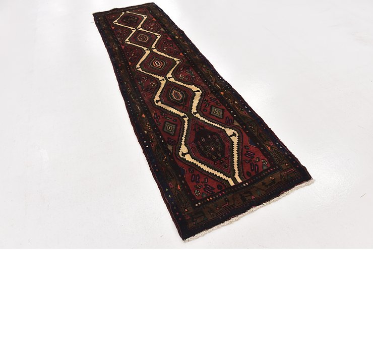 2' 10 x 10' Chenar Persian Runner Rug