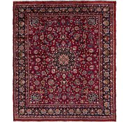 Link to 9' 9 x 11' 5 Mashad Persian Square Rug