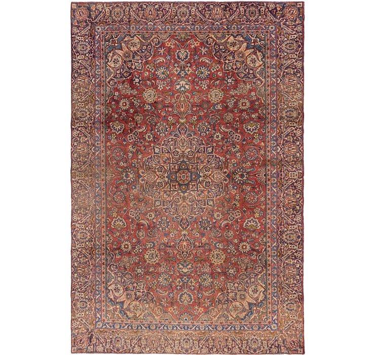 8' 5 x 12' 7 Mashad Persian Rug