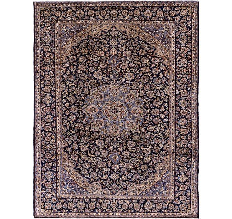 8' 7 x 11' 2 Kashan Persian Rug