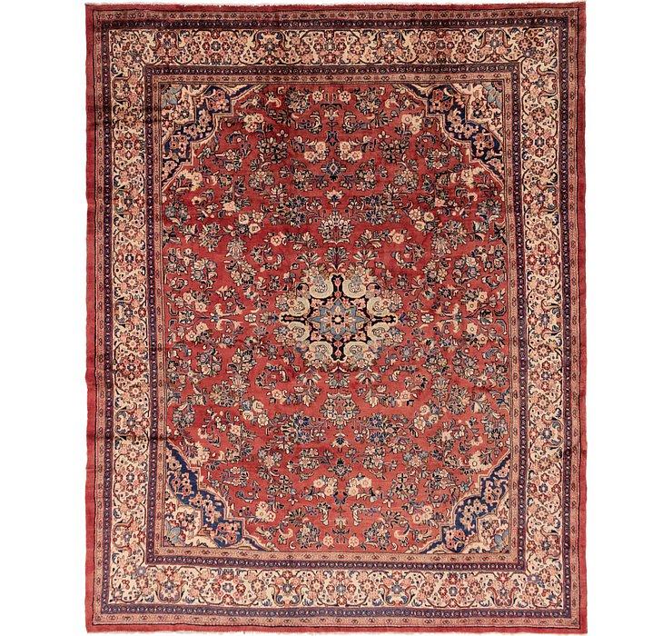 328cm x 415cm Meshkabad Persian Rug