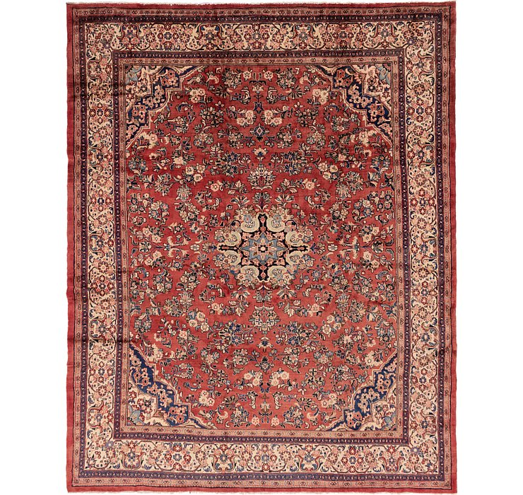 10' 9 x 13' 7 Meshkabad Persian Rug