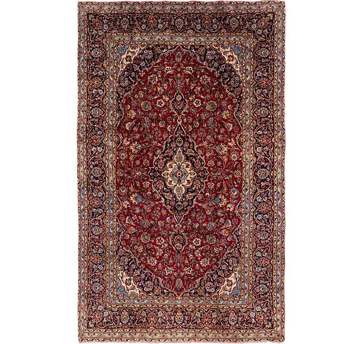 8' x 12' 10 Kashan Persian Rug