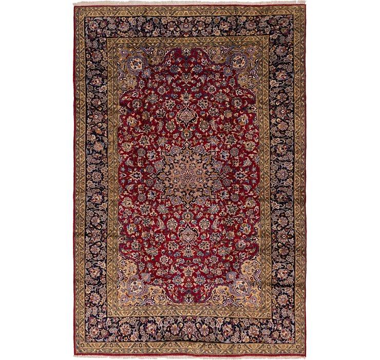 9' 7 x 15' Isfahan Persian Rug
