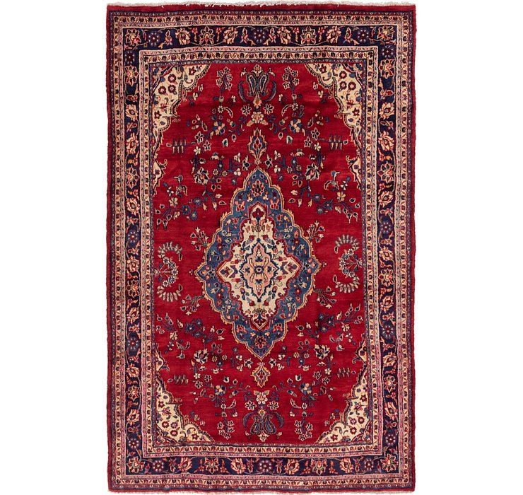 7' x 10' 10 Shahrbaft Persian Rug
