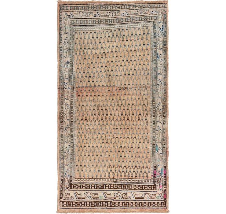 4' 6 x 8' 5 Hamedan Persian Rug