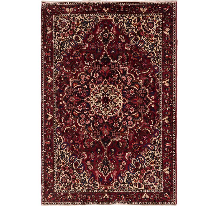 6' 9 x 9' 10 Bakhtiar Persian Rug