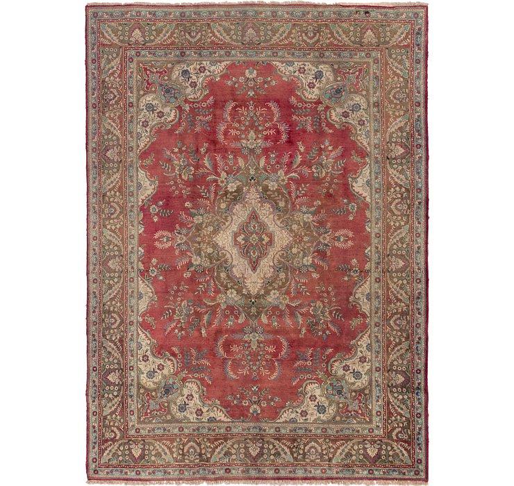 HandKnotted 9' x 12' 8 Tabriz Persian Rug